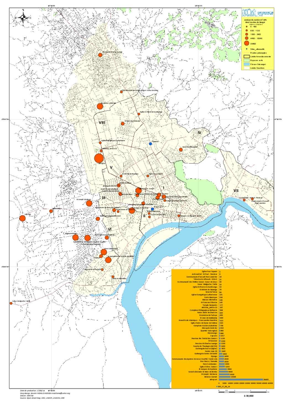 Document CAR 170614 IDPs site in Bangui MAP