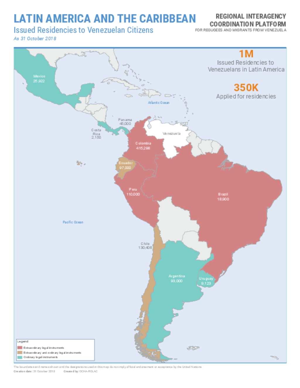 Document - R4V Issued residencies to Venezuelan citizens