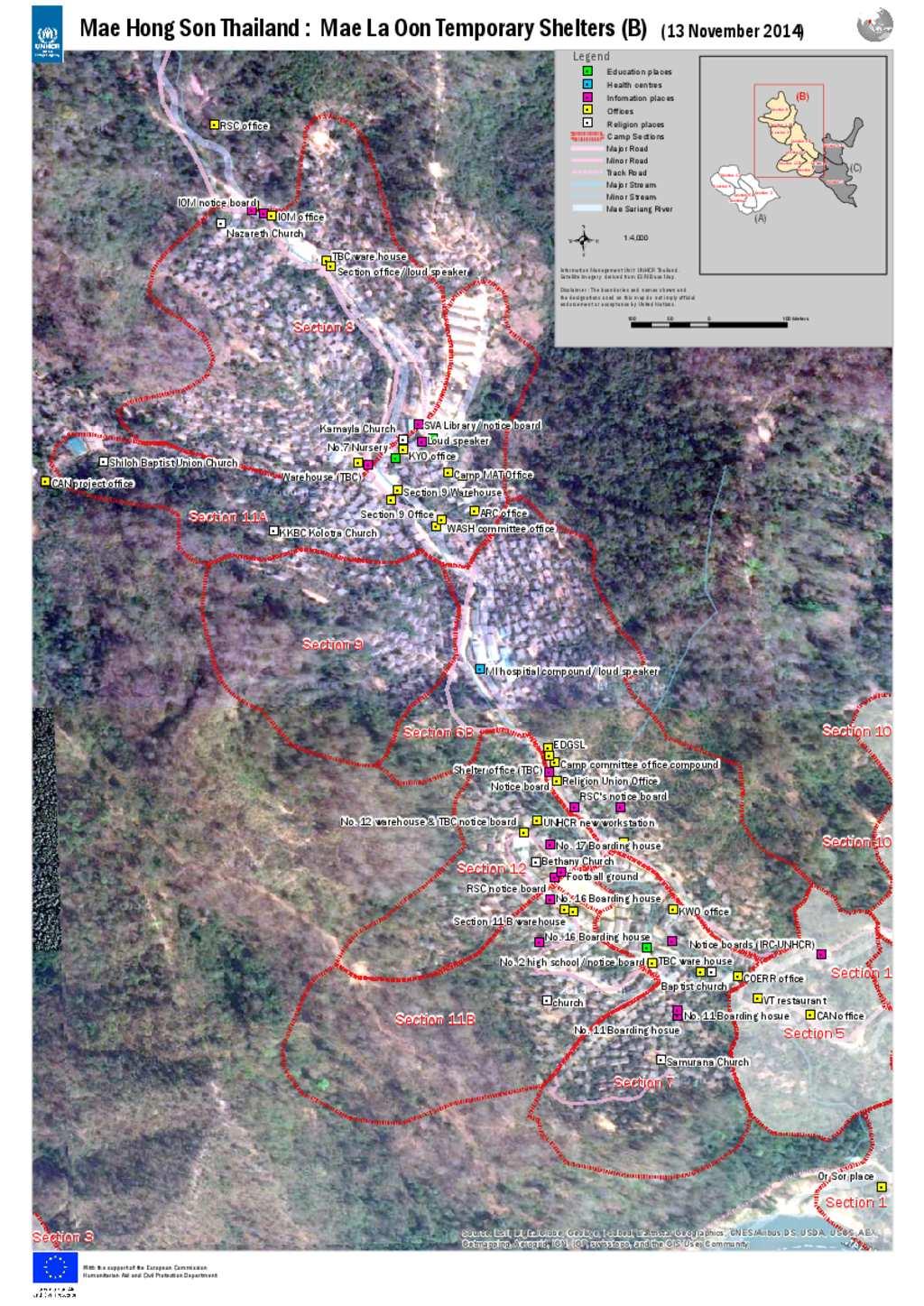 Document - Information Dissemination Map B Mae La Oon ...