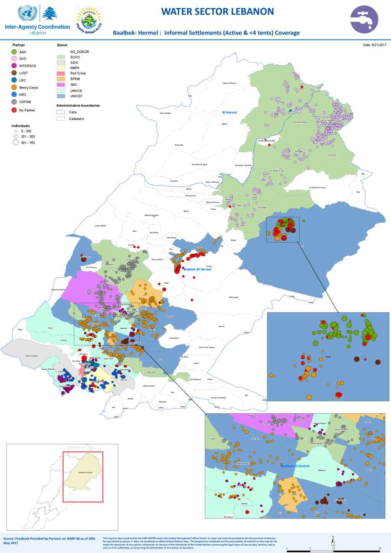 Document Baalbek Hermel WATER Sector Lebanon Informal