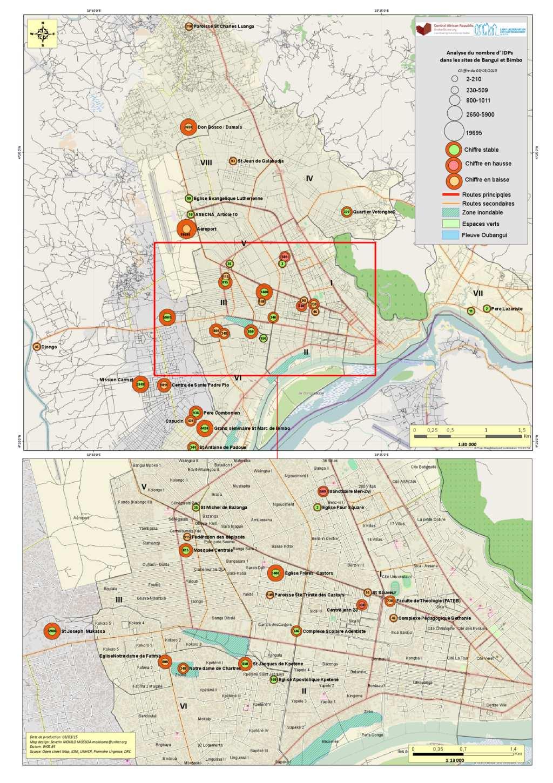 Document MAP IDP sites Bangui 03032015