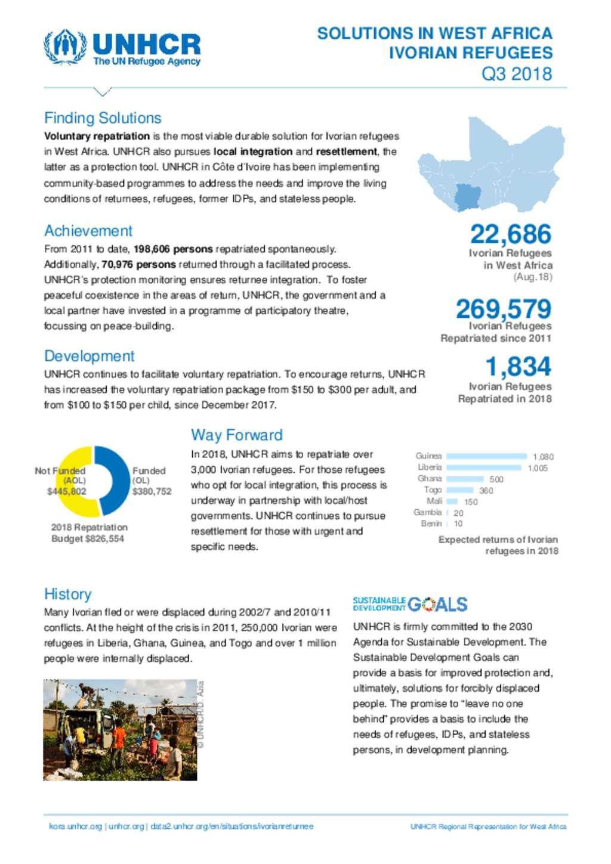 Document - UNHCR: Ivorian refugees in West Africa